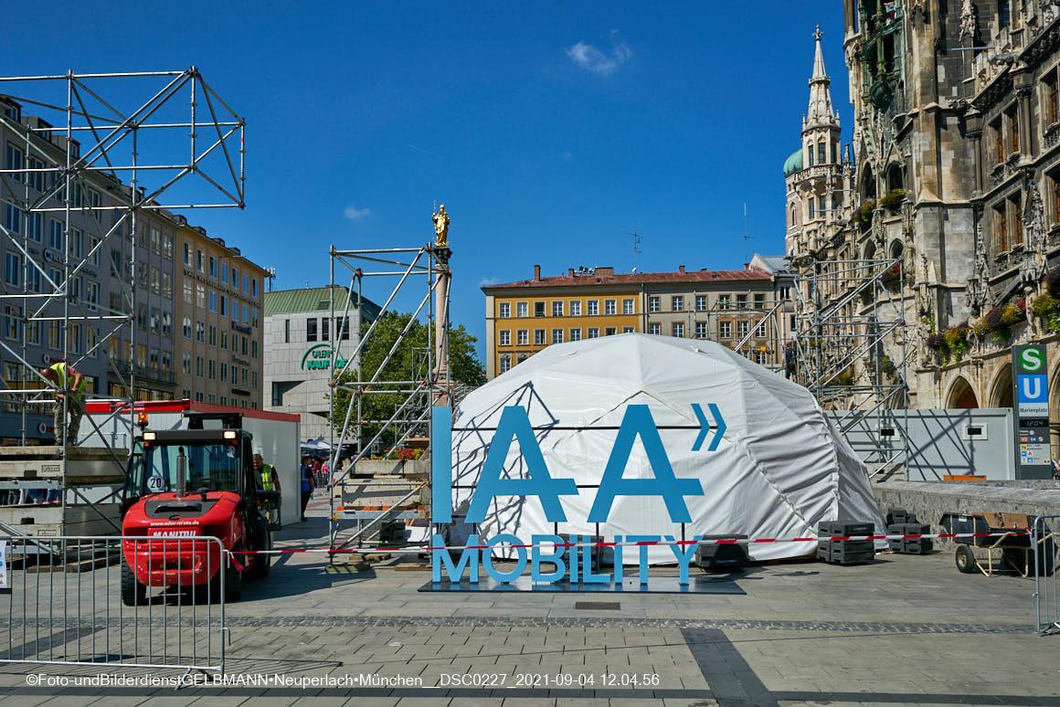 IAA auf dem Marienplatz